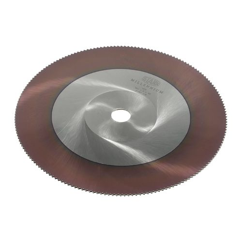 Disco de corte HSS Millennium de 400mm x 2.5mm x 50mm