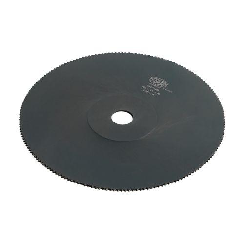 Disco de corte HSS OV de 300mm x 2.0mm x 40mm Paso de diente:6 PH:2/8/55 + 4/12/64 de perforación para los barrenos.
