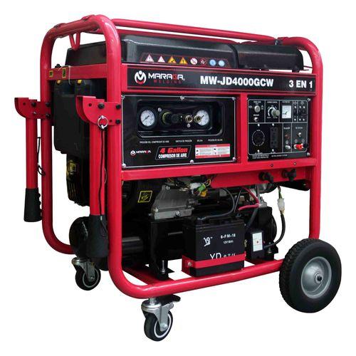 3 en 1 Generador/compresor/inversor de 4500 Watts