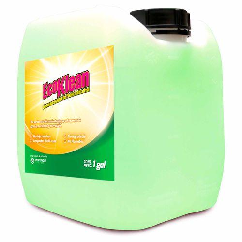 Limpiador y Desengrasate Biodegradable de Uso Industrial 1 galón