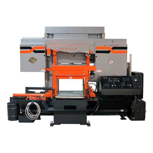 Máquina de Sierra Cinta Brida Ancha WF130HM-DC
