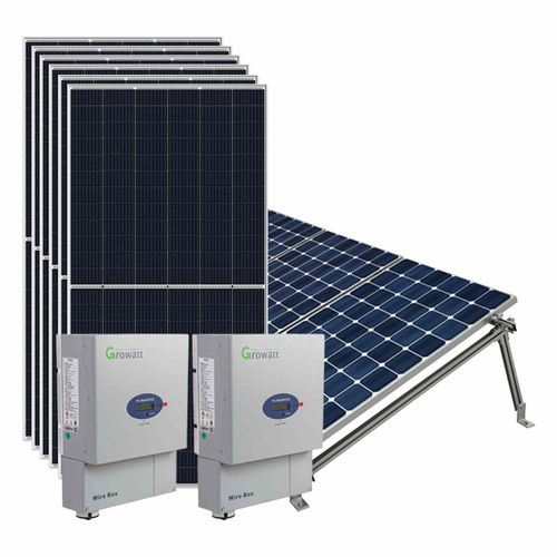 Kit básico de instalación 8 paneles