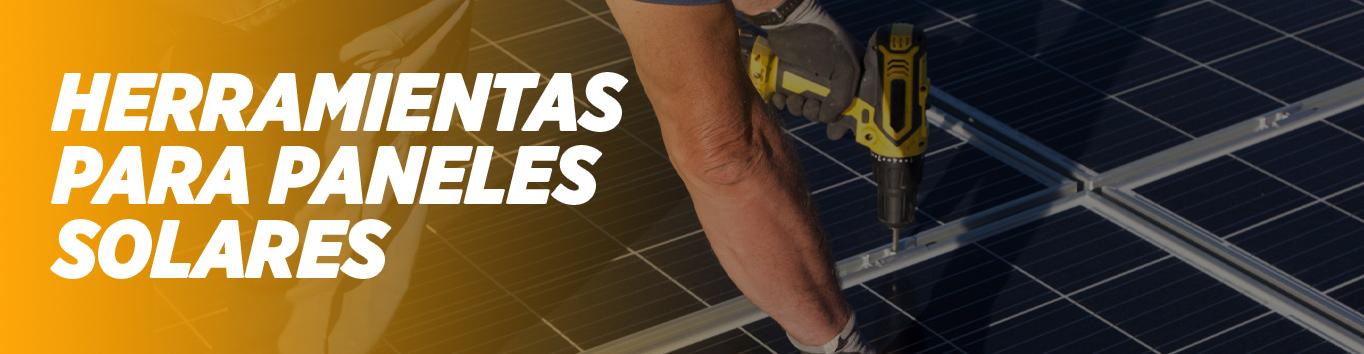 Herramientas para paneles solares